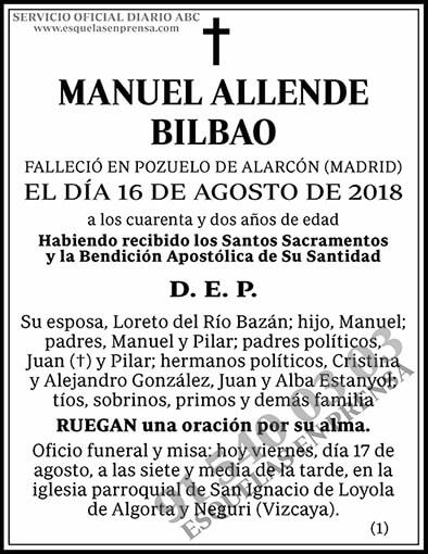Manuel Allende Bilbao